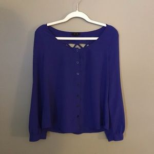 Mine blue top size m